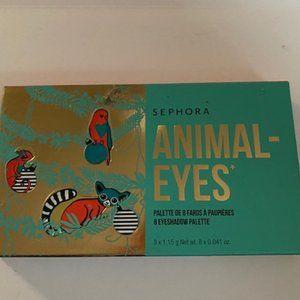 NIB -- Sephora Animal Eyes 8 Eyeshadow Palette